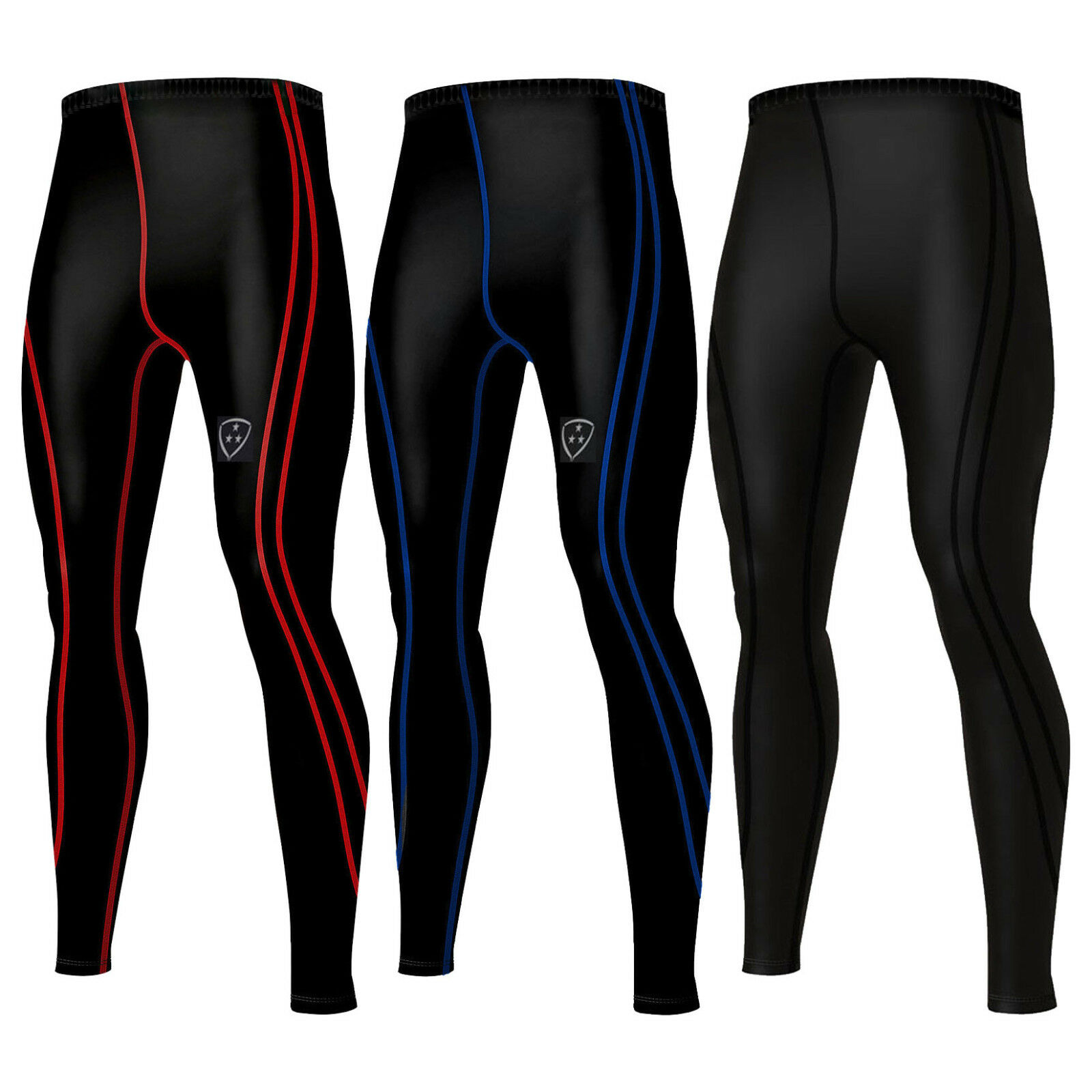 b4afc4bea25 Details about DHERA Men s Compression Base Layer Pants Leggings Running  Skin Tight Trousers