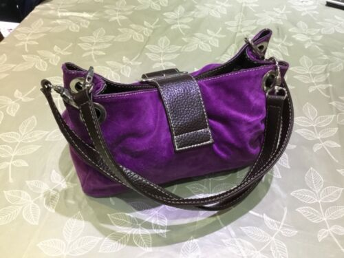 Suede Purple Effect New Brand Handbag ApA4Z