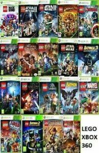 Xbox-360-LEGO-Games-acquista-1-o-Copriti-stesso-giorno-inviato-Microsoft