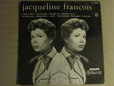 JACQUELINE FRANCOIS S/T LP OG PHILIPS 77310 L RARE FRENCH POP CHANSON FRANCE VG+
