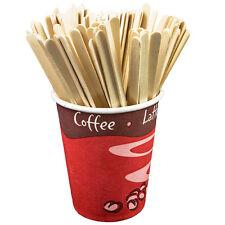 x1000 bois café thé boisson mélangeurs artisanat bâtons chocolat chaud jetable