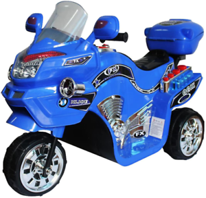 Electric Cars For Kids To Ride On Toys Riding Motorcycle Trike 6v Girls Boys New Ebay