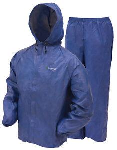 Frogg-Toggs-UL12104-Waterproof-Rain-Suit-NEW-Rain-amp-Wind-Suit