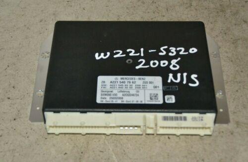 Mercedes Classe S Air Suspension Control Module A2215407962 W221 2008