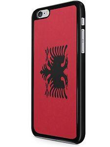Dettagli su Country Bandiera iPhone 6/7 Custodia Cover ALBANIA- mostra il titolo originale