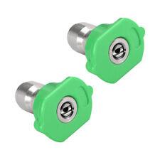 Pressure Washer Spray Nozzle Tips 14 2 Pcs 25 Degree 2mm Orifice Diameter