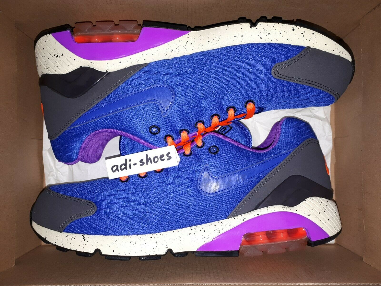 2013 NIKE AIR MAX 180 EM plagees of Rio taille 44 US 10 tape 579921-540 SP 1 97 CDG