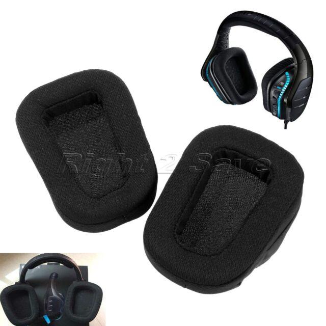 Ear pads cushion for Logitech G633 G933 Artemis Spectrum Surround Headset