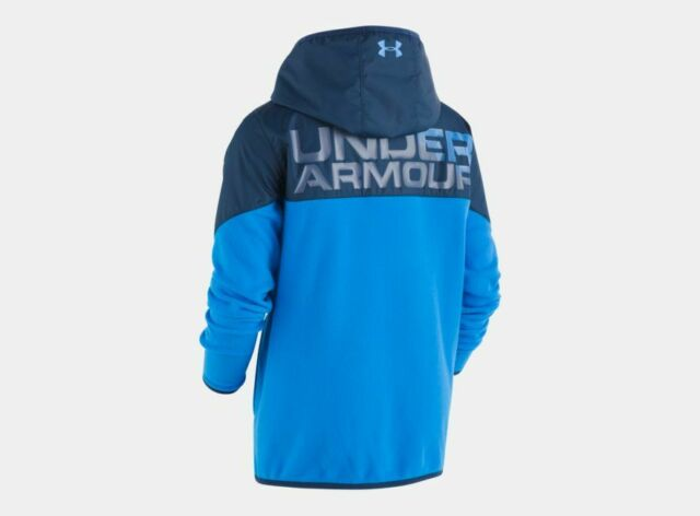 Under Armour Boys Winter Jacket Circuit Blue STORM Water Resistant 4 5 6 NWT