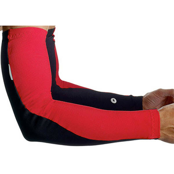 Assos S7 Arm Warmers - Red Swiss