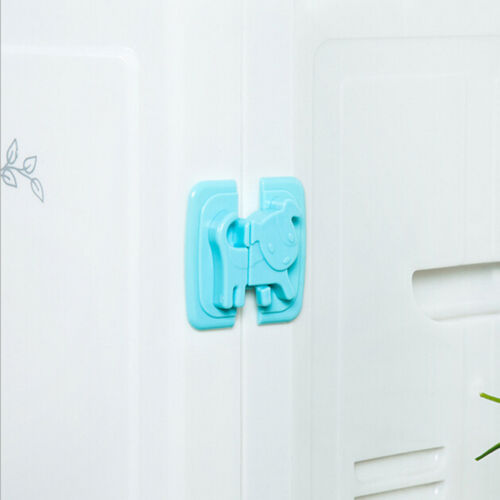 New Kids Child Baby Pet Proof Door Cupboard Fridge Cabinet Drawer Safety Lock TK