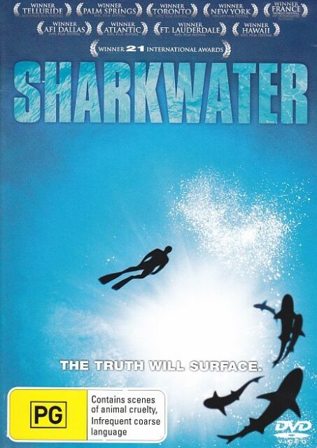 Sharkwater - The truth will surface DVD - Documentary, Shark Finning, Fish, Film