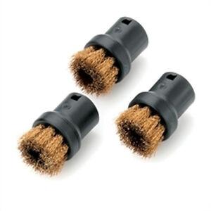 Genuine Karcher Round Bristle Brushes//Nozzles SC1020 to DE4002  28630580.