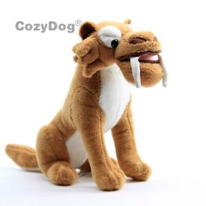 Ice-Age-Diego-Sabre-Tooth-Tiger-Plush-Toy-Stuffed-Animal-Doll-7-039-039-Xmas-Gift