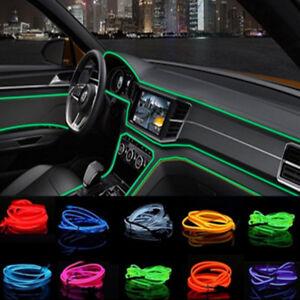 Moderne-EL-Kabel-EL-Ambientebeleuchtung-Innenraumbeleuchtung-Lichtleiste-Auto