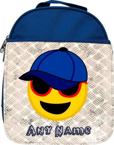 Personalised Baseball Cap Emoji Enfants École Isolé Lunchbox Boîte Cadeau