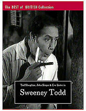 Sweeney Todd - Demon Barber Of Fleet Street [1936] [DVD], Very Good DVD, John Si