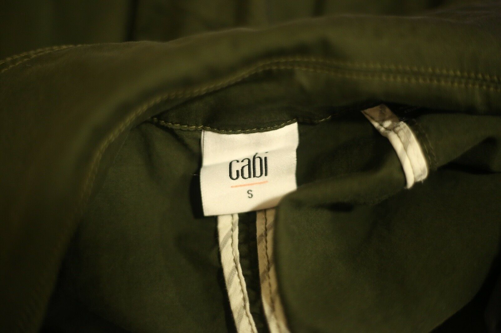CAbi Women's Small #5478 Expedition Jacket Olive … - image 4