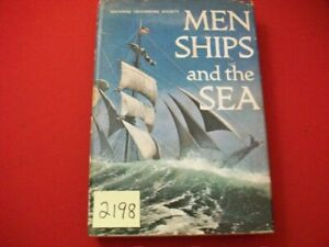 NATIONAL-GEOGRAPHIC-SOCIETY-034-MEN-SHIPS-amp-THE-SEA-034-BY-CAPT-ALAN-VILLIERS-SUPERB