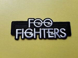 POP-ROCK-PUNK-METAL-MUSIC-SEW-ON-amp-IRON-ON-PATCH-FOO-FIGHTERS