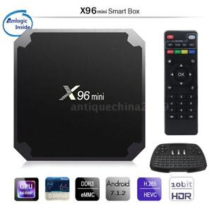 Details about X96 Mini TV Box Android 7 1 2 Amlogic S905W Quad Core WiFi HD  2GB 16GB 4K Player