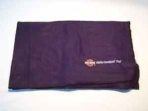 Harley Davidson Visa Mini Fleece Blanket Throw Ebay