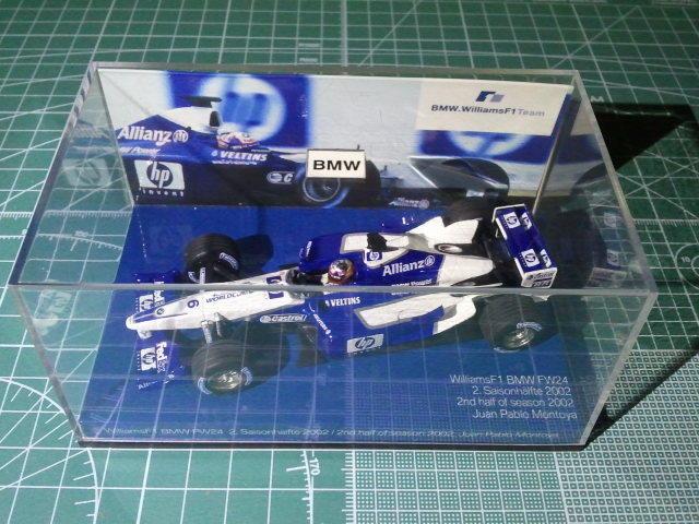 Juan Pablo MONTOYA - MINICHAMPS - BMW BOX 5010077 - WILLIAMS BMW FW24 - 02 2002