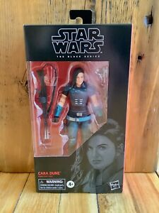 Star Wars Black Series Cara Dune 6 inch Action Figure Hasbro NIB #101