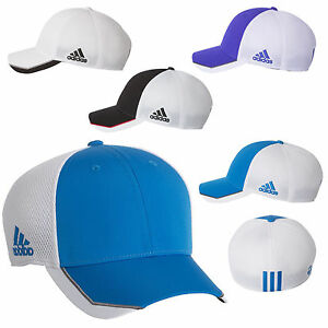 7e95d91c3b5 Image is loading Adidas-Golf-A620-CLIMACOOL-Taylormade-FLEXFIT-FITTED-Tour-
