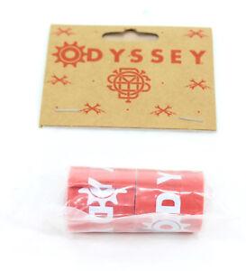 ODYSSEY-20-034-X-1-75-034-RED-BMX-BIKE-RIM-STRIPS-SET-OF-TWO