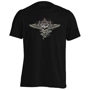 Le-Roi-Crane-avec-des-ailes-Tee-Shirt-Homme-Tank-Top-aa449m