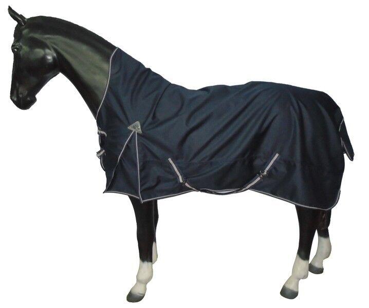 Pferdo 24 lluvia manta Bakú plus 1200 denier 100g fleecelining highneck daselfo Top