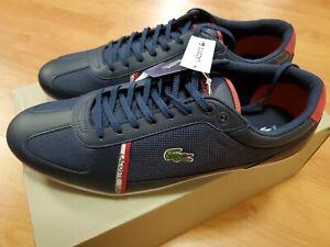 Lacoste-Evara-Sport-319-1-Mens-9-5-Casual-Navy-Blue-Fashion-Shoes-38CMA0043-144