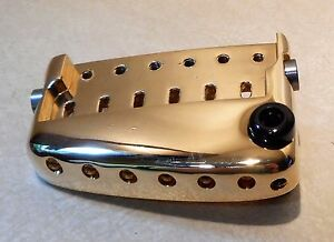 NEW GOLD PARKER FLY SERIES GUITAR CUSTOM SHOP BRIDGE WITH WHAMMY BAR INSERT