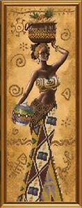 New-Bead-Embroidery-Kit-Afrikanisch-mit-Fruechten-von-Nova-Sloboda-Manufacture