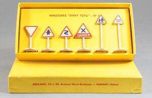 1 / 43 Ème Dinky Toys Panneaux Route Jouet Ancien