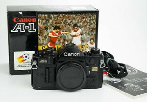 Canon A-1 35mm film camera reflex analogica Canon FD obiettivi lenses body