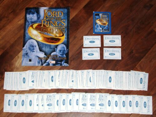 Lord of The Rings The Return Of The King UK Empty Merlin album,Complete, loose &