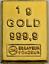 1-Gramm-Barren-Platin-Gold-Silber-Palladium-Geschenk-Wertanlage-Hochzeit Indexbild 8