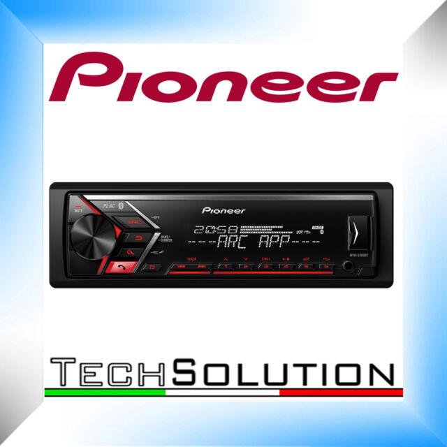 Pioneer MVH-S300BT Autoradio BLUETOOTH FLAC MP3 USB AUX-IN BT
