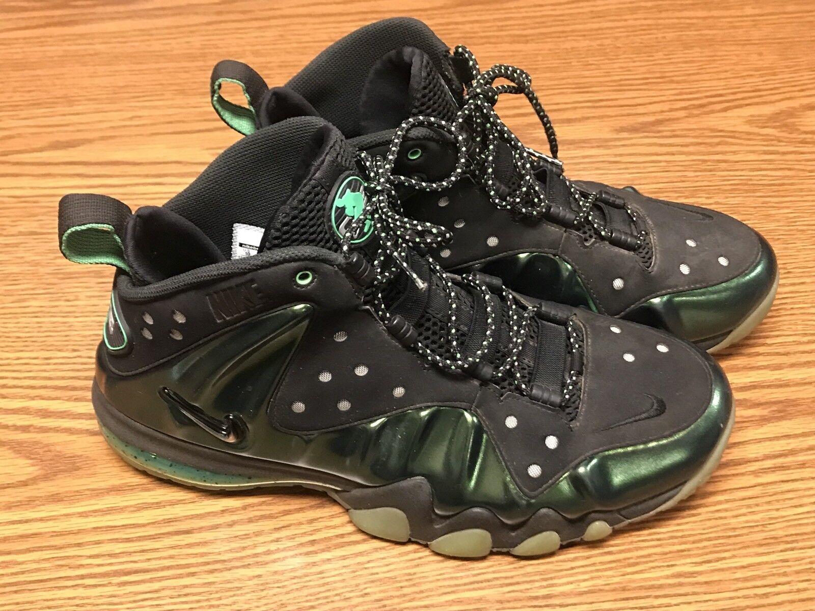 Nike air max 555097-301 barkley posite gamma verde nero scarpe da uomo sz 10