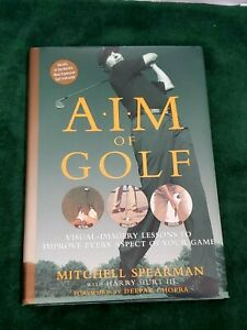 Golf-Tips-Book-Aim-Of-Golf-Practice-Trainer-Coach-Clubs-Swing-Range-Tee-Green