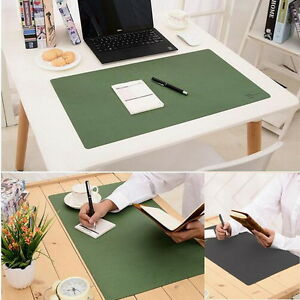 Image Is Loading Polyester Fiber Leather Oversized Big Pad Waterproof Office