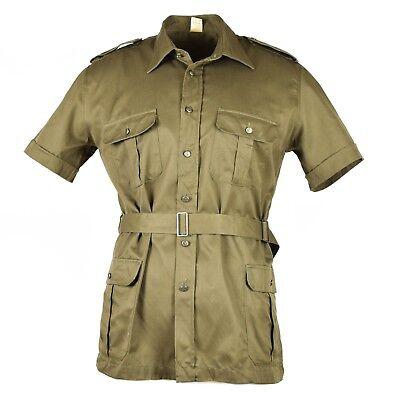 Original Italian army navy t-shirt blue cotton shirt short sleeves military NEW