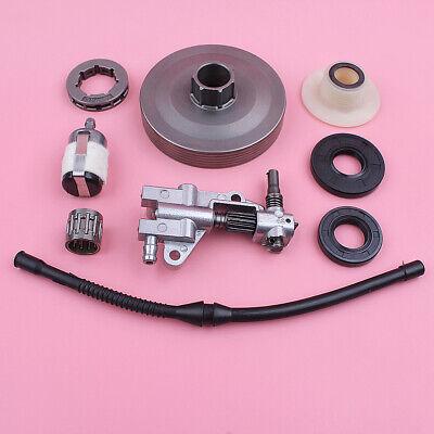 1 Set Chainsaw Oil Pump /& Gear Worm For Chainsaw 45CC 52CC 58CC 4500 5200 5800