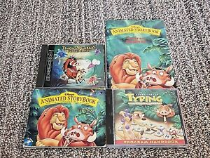 Lot-of-3-Disney-Lion-King-CD-Rom-PC-Games-with-manuals-Windows-95