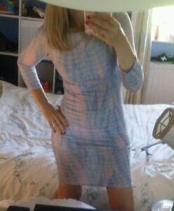 Topshop-dress-size-10-women-bodycon-stretch