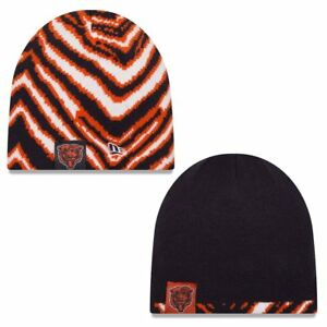 New Era Chicago Bears Zubaz Reversible Knit Winter Hat 889353245562 ... b7756dac286c