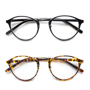 b957c7299a Retro Vintage Style Clear Lens Eye Glasses Hipster Cool Nerd Smart ...