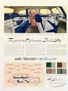 1940 PRINT AD for the New 1941 Packard Year's Most Glamorous Inside Story